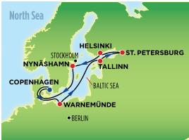 北歐、俄羅斯十二天豪華遊輪之旅